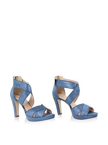 GIANNI GREGORI Sandalias de tacón Azul EU 37