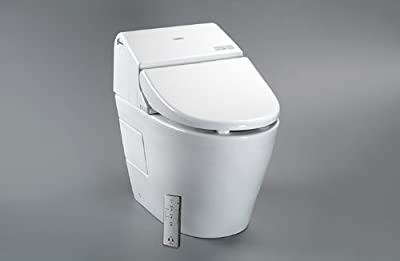 Toto MS970CEMFG#12 1.28-GPF/0.9-GPF Washlet with Integrated Toilet G500, Sedona Beige