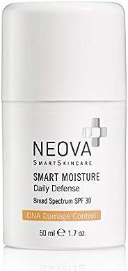 NEOVA SmartSkincare Smart Moisture- SPF 30. Daily defense against incidental UVA/UVB exposure. Booster supplie