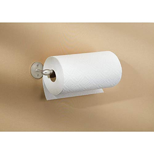 InterDesign Orbinni Paper Towel Holder for Kitchen, Wall Mount/Under Cabinet - Satin by InterDesign