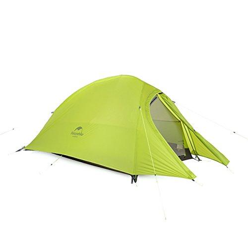 カッタールアープロテスタントマットNH15T002-Tで2人のためCloudUpシリーズ超軽量ハイキングテント20D / 210Tファブリック