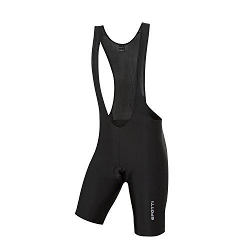 Spotti Basics Mens Padded Bike Bib Shorts (Waist 38-40