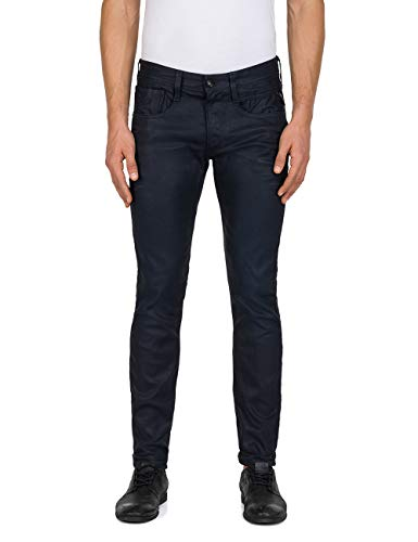 Fit Anbass Slim Blue Men's Replay Jeans nqCz6pxw