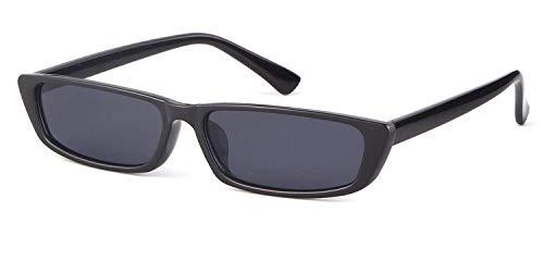 Vintage Rectangle Small Frame Sunglasses Fashion Designer Square Shades for Women