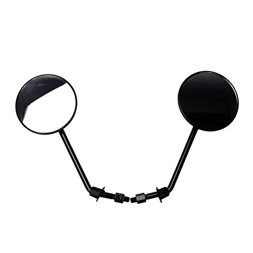 Frenshion Pair 8mm Universal Motorcycle Rear View Mirrors Ro