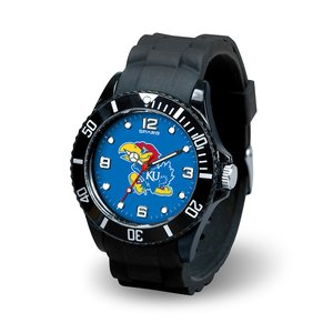 Kansas Jayhawks Watch - Rico Industries NCAA Kansas Jayhawks Spirit Watch