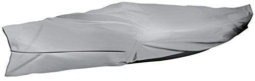 Leader Accessories Grey ShoreGuard Polyester Waterproof Universal Canoe/Kayak Cover (Up to 16'L beam width to 36'') - Canoe Kayak Cover