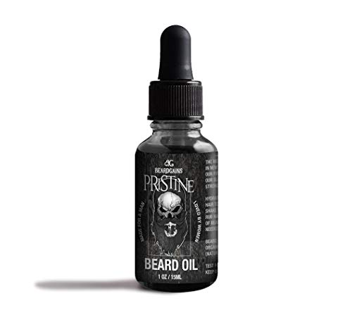 Pristine Luxury Beard Oil - Mens Cologne Scented - Beard Gains (1oz) (What's The Best Beard Oil)