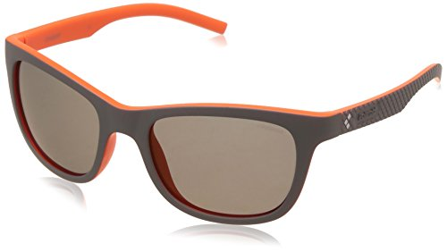 Polaroid Pld 7008/S Sunglasses - Gray/Red Sp Polarized - ...