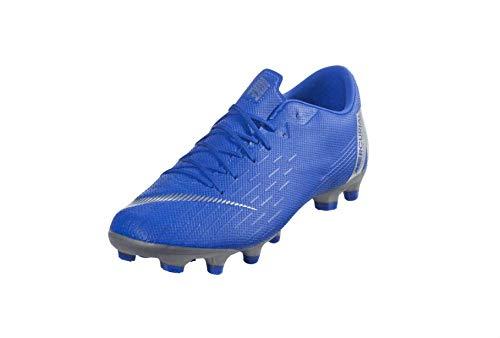 Nike - Mercurial Vapor 12 Academy MG - AH7375400 - Color: Blue - Size: 10