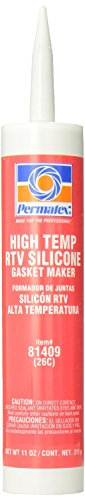 - PERMATEX 81409 #26 High-Temp Rtv Silicone Gasket Maker 11 Oz (Price is for 12 Each/Case)