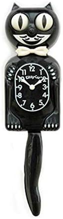 Made by Kit-Cat Klock/Ã/'/Â/® by Kit-Cat Classic Black Kitty-Cat
