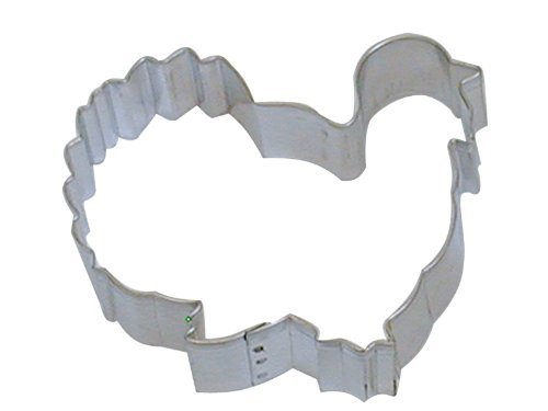 Cybrtrayd R and M Gobbler Turkey 3.75-Inch Cookie Cutter in Durable, Economical, Tinplated Steel 000RM-1150