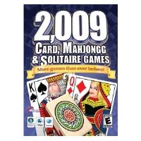 Masque 2,009 Cards, Mahjongg and Solitaire Games (Hoyle Card Games Cd)