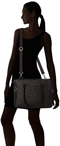 Kipling Artego para Garden Black para Maletín Negro Size One Portátiles Mujer HPr4HqZ