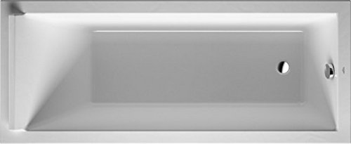 (Duravit 700332000000090 Bathtub Starck New 1500x750mm white, built-in, Large - LTL,)