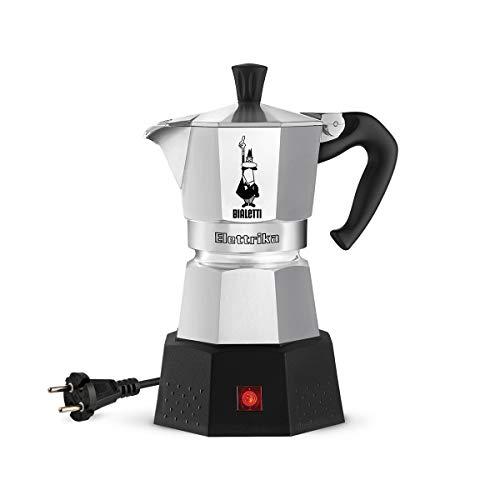Bialetti Moka Elektrika, Cafetera espresso eléctrica de viaje (110 V / 230 V)