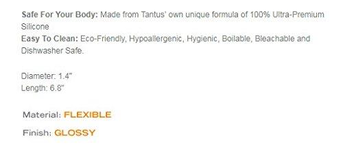 Tantus Charmer - Ultra-Premium Silicone Dildo - Purple Haze
