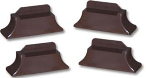 Stander Recliner Risers - Adapatable Slip Resistant Easy Chair Lift - Set of 4 (Advantage Set Bed)