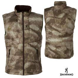 Browning Shrike Vest, Brown, 3X-Large