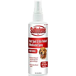Sulfodene Medicated Hot Spot & Itch Relief Spray, 8 Ounce, 2 Pack
