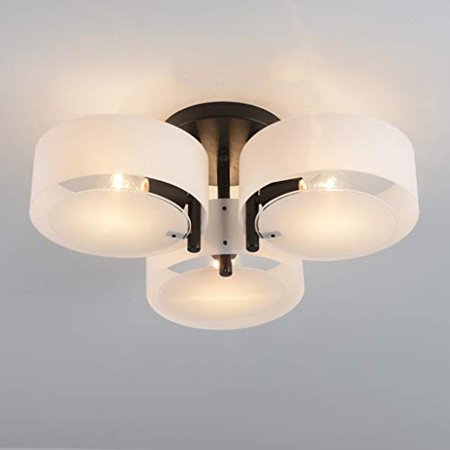 Y.H.Valuable Pendant Lights Acrylic Chandelier with 3 Lights (Chrome Finish) Ceiling Light -Lighting & Ceiling Fans