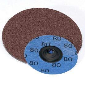 Superior Abrasives 11133 QC Disc Type S 3'' Aluminum Oxide Very Fine - Pkg Qty 50