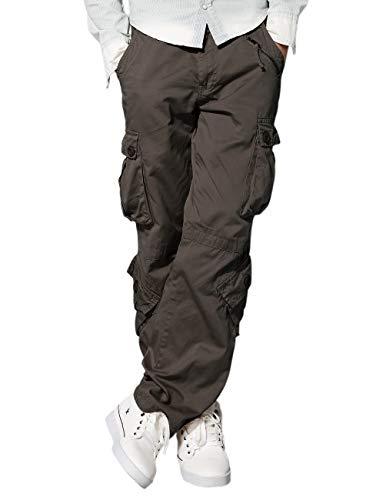 Match Men's Wild Cargo Pants(Dark Khaki,40)