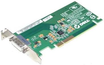 FH868 Dell PCI-E DVI Low Profile Graphics Card Renewed