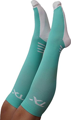TX Compression Socks 20-30 mmHg Graduated Support - Moisture Wicking Material