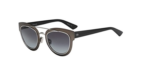 Dior LMK Matte Black Ruthenium Chromic Cats Eyes Sunglasses Lens Category - Cat Dior