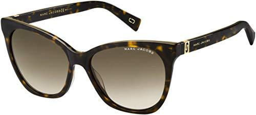 Marc Jacobs MARC 336/S 086 Dark Havana MARC 336/S Cats Eyes Sunglasses Lens ()