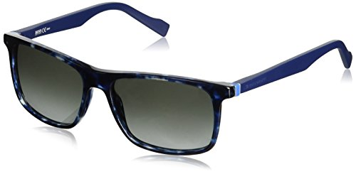 Boss Orange sunglasses BO 0174/S JIYPT Acetate Havana Blue Grey - Boss Sunglasses Orange Blue