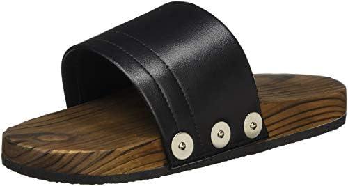 遠藤商事 業務用 防滑サンダル M ブラック SSK-3820 日本製 SSV2305