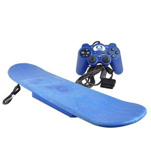 Q-Motions Xboard Full Motion Video Game Controller w/SSX3 Video Game for Playstation 2
