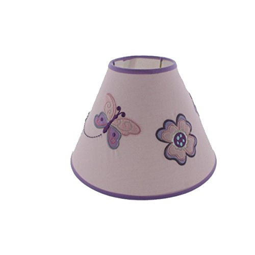 Koala Baby Infants Butterfly Nursery Lamp Shade Purple O/S