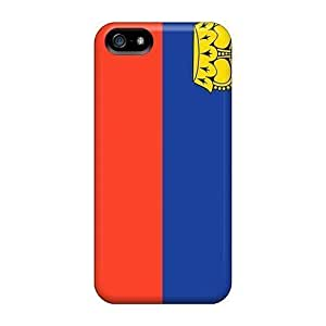 For Iphone Cases, High Quality Liechtenstein Flag For Iphone 5/5s Covers Cases
