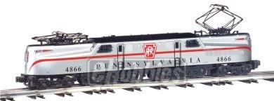 O Williams GG1, PRR/Silver/1 Stripe