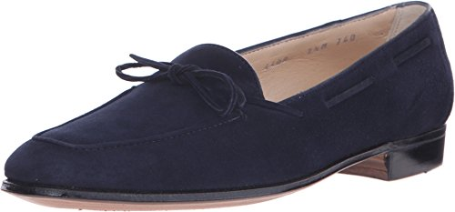 gravati-girls-bowed-velukid-slip-on-loafer-navy-loafer-9-m