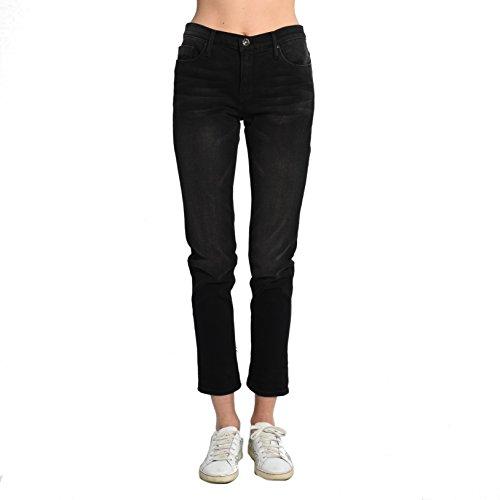 Black Orchid Denim Harper Skinny Boyfriend Jeans In Blackish for sale
