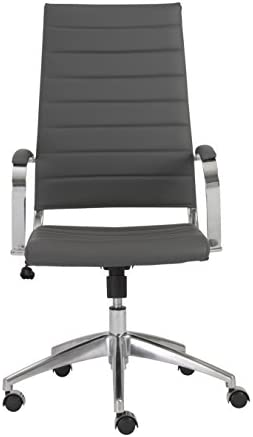 Eur Style Axel High Back Soft Leatherette Adjustable Office Chair