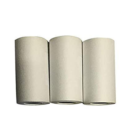 3 rollos de papel adhesivo imprimible durable Papel térmico ...