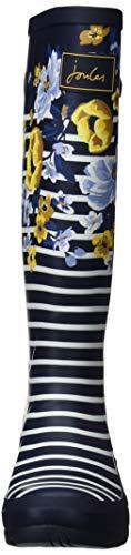 Navbotan navy Joules Botanical Bottes Bleu Pluie Welly De Print Femme amp; Bottines qqP6z