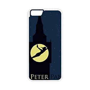 iPhone 6 Plus 5.5 Inch Case White Peter Pan Cell Phone Case Cover M8N8NX