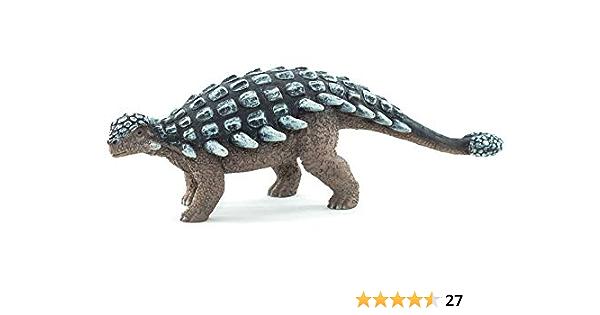 Blue TOYANDONA Realistic Dinosaur Figures Ankylosaurus Jurassic Period Dinosaurs Models Toys Educational Toys Set Jumbo Plastic Model