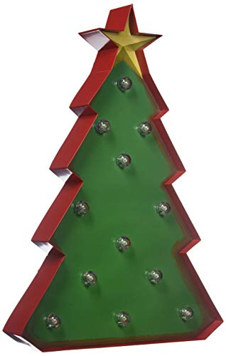 LED Marquee Light Christmas Tree Sign