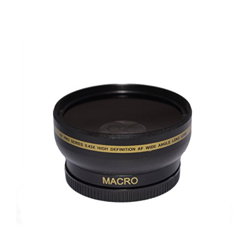 Wide Angle 62mm Metal Lens Hood Cover for 62mm Filter/Lens - 3