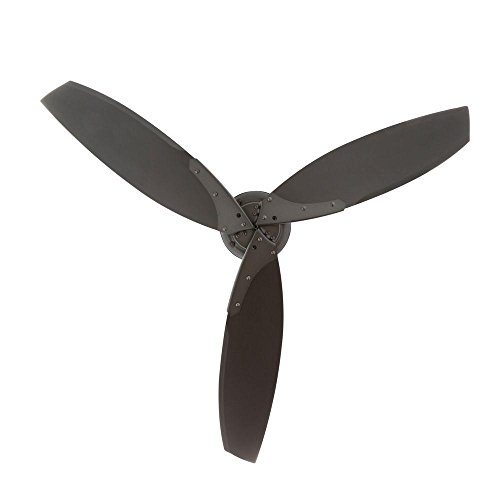 Hampton Bay Florentine IV 56 in. Indoor/Outdoor Natural Iron Ceiling Fan with Wall Control