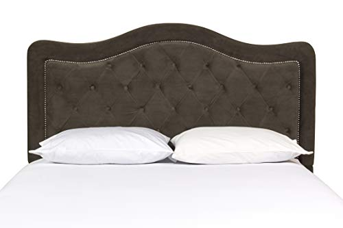 Hillsdale 1554-672 Trieste Headboard Without Frame King Chocolate