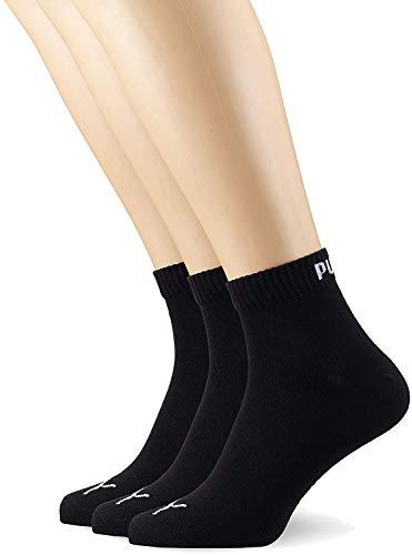 PUMA Quarter Plain 3p – Chaussettes de sport – Homme
